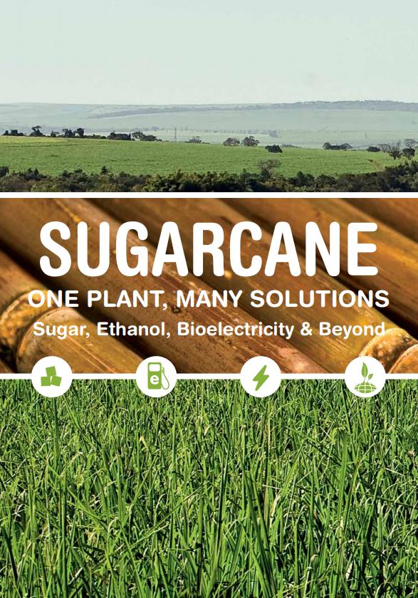 UNICA's Institutional Folder: Sugar, Ethanol, Bioelectricity & Beyond